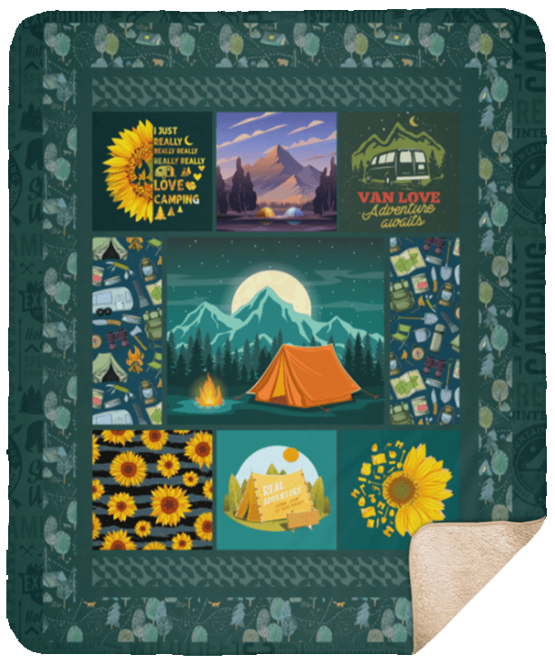 Sherpa Blanket - 50x60
