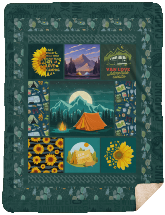 Sherpa Blanket - 60x80