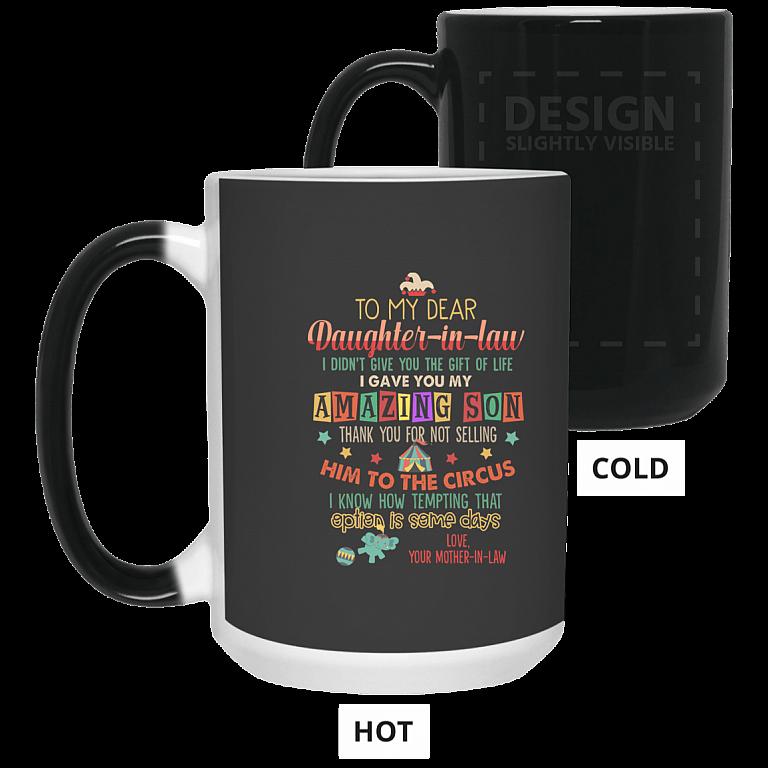 15 oz. Color Changing Mug