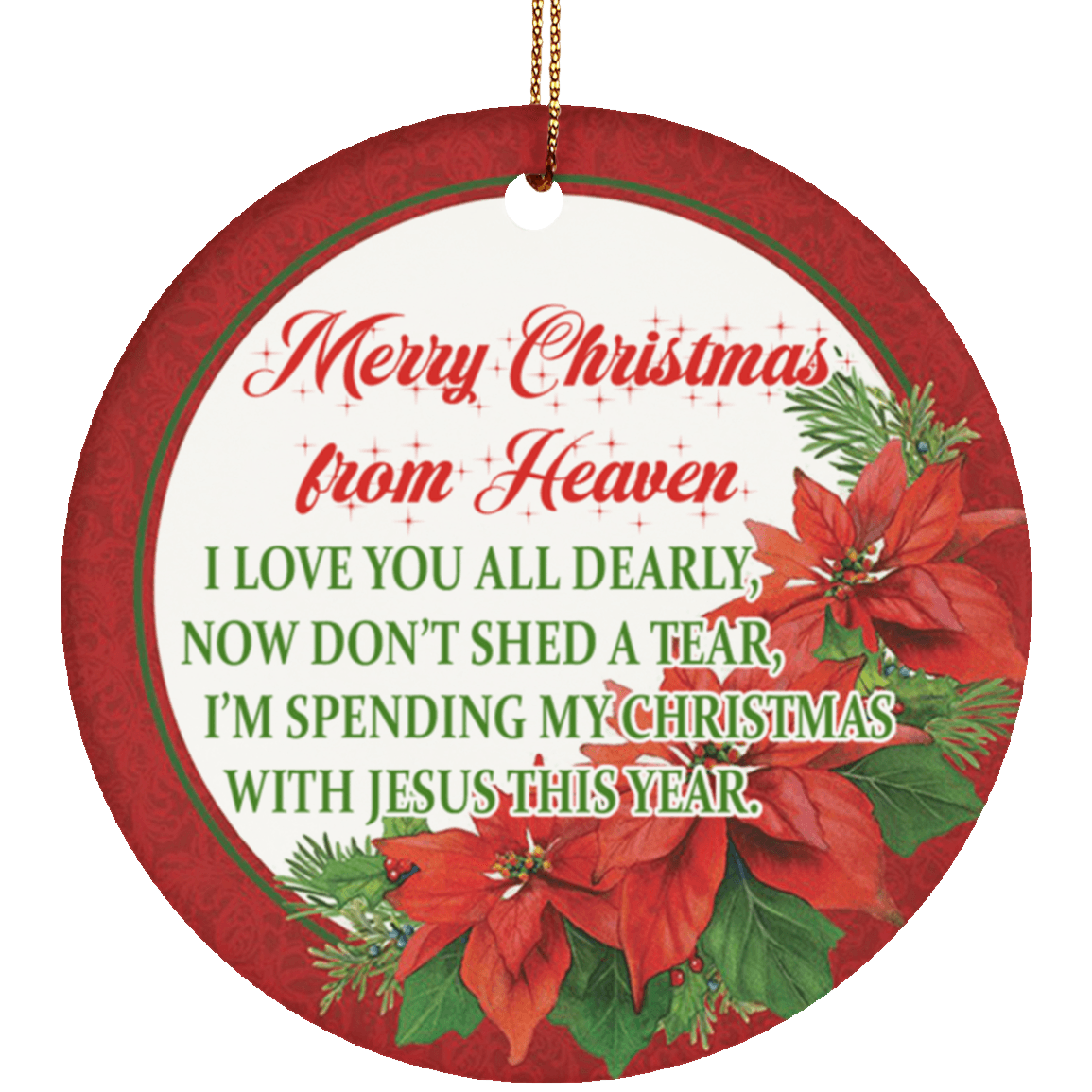 Christmas Ornaments 2019   Merry Christmas From Heaven I ...