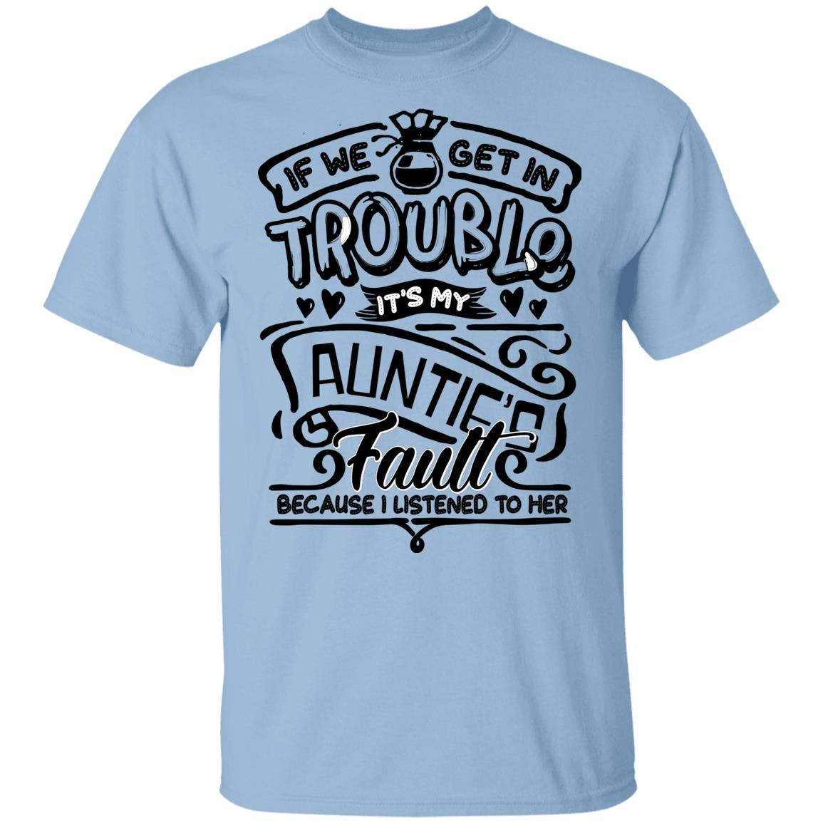 Youth Don/'t Make Me Call My Auntie Tshirt Funny Family Aunt Tee Dark Heather
