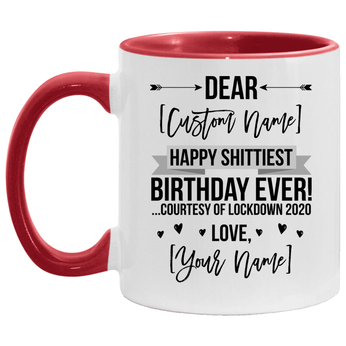 Personalized Lockdown Birthday Mug