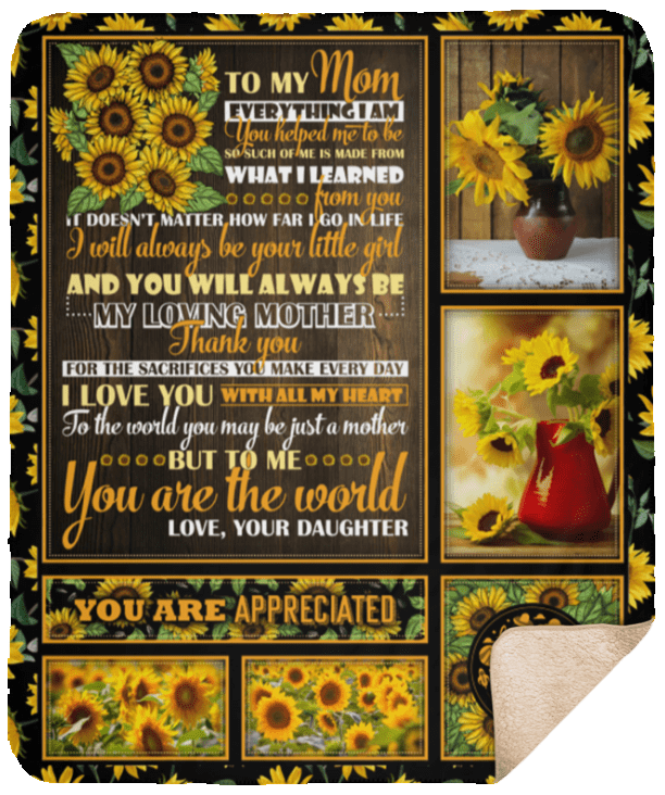 TO MY WONDERFUL MOM HOW SPECIAL YOU ARE TO ME 3D Custom Fleece  Blanket Gift
