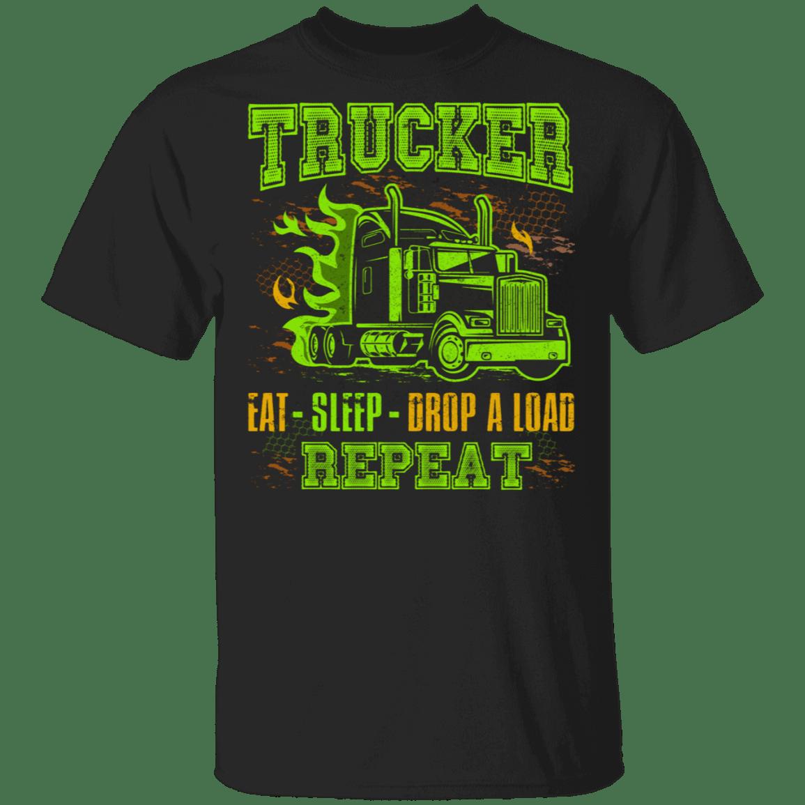 tee Truckers Son Shirt Proud Trucker Son Kids Christmas Unisex Sweatshirt