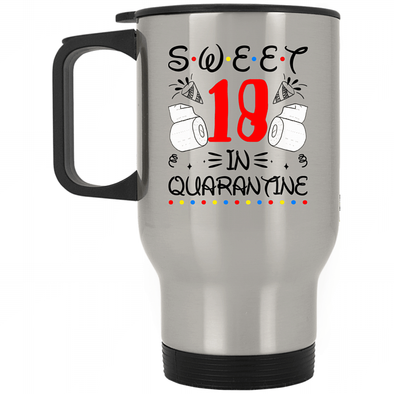 18th Birthday Gifts Sweet 18 Quarantined Happy 18th Birthday 2020 Gifts Coffee Mug Cubebik