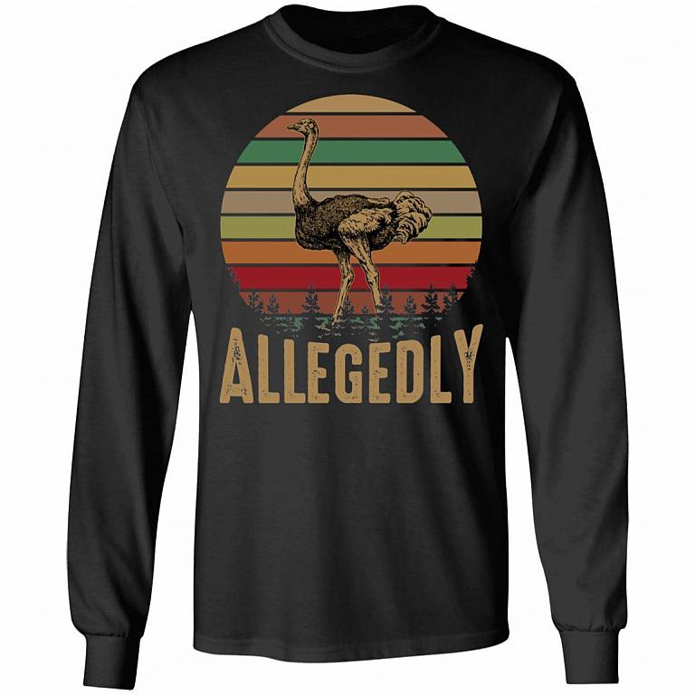 I Love Heart Ostriches Kids Hoodie Sweatshirt