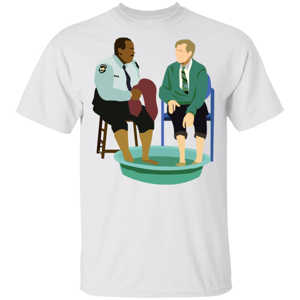 Mister Rogers Shirt Mister Rogers Neighborhood Mr Rogers And Officer Clemmons T Shirt Cubebik