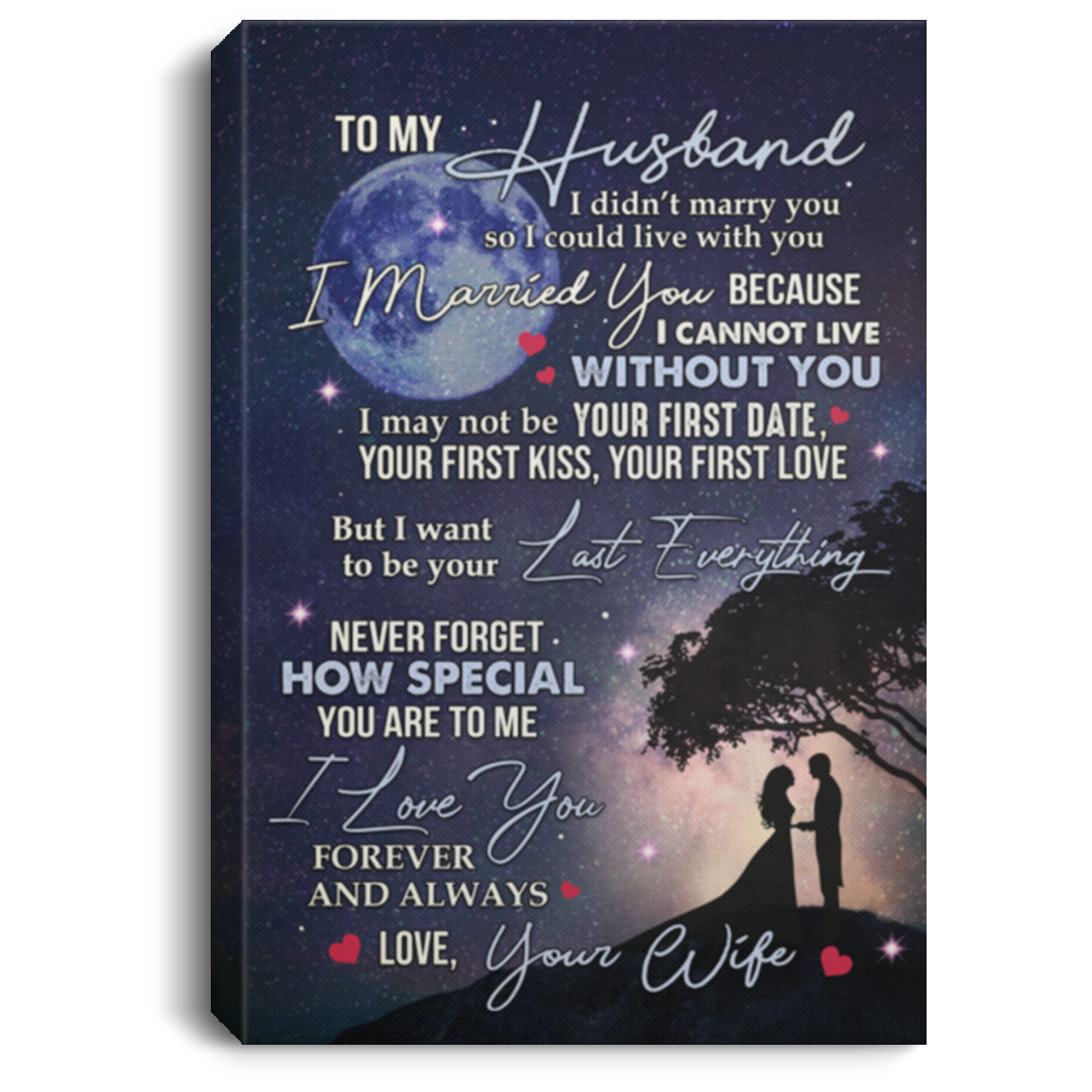 Never loved husband me my My husband