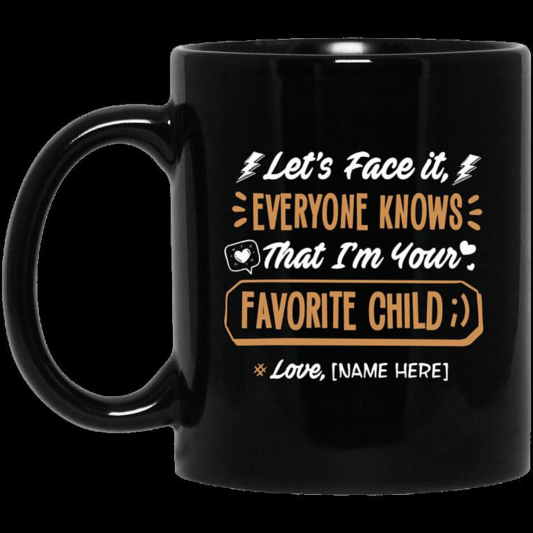 11 oz. Black Mug