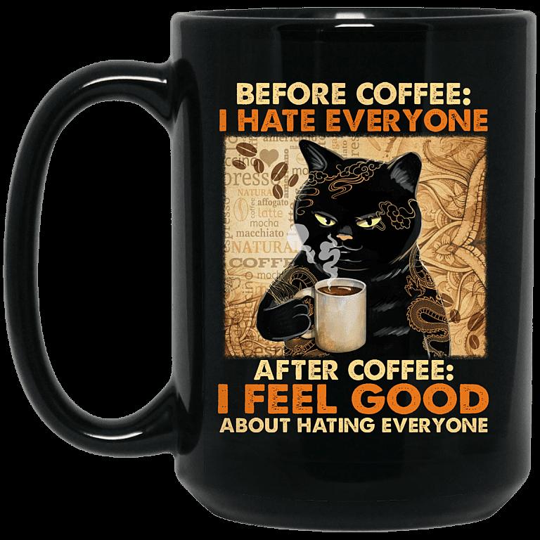 15 oz. Black Mug